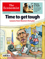 Issue cover for January 16th 2010
